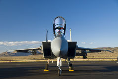 F15 eagle warplane  Royalty Free Stock Images