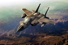 F15 fighter royalty free illustration
