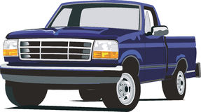 F150 bleu illustration libre de droits