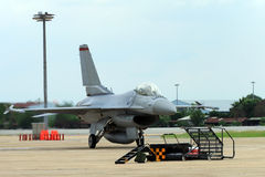 F16 dell'aeroplano Fotografia Stock Libera da Diritti