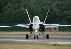 F18 Hornet fighter Stock Images