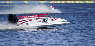 F1H2O UIM World Championship for power boating Stock Image