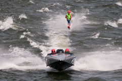 F2 Waterski stock images