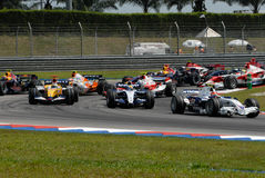 F2007 F1 Sepang Malaysia 2007 Foto de Stock Royalty Free