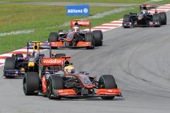 F2009 F1 SEPANG MALAISIE 2009 Photo stock