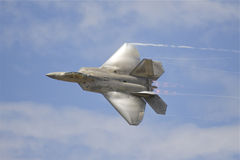 F22 Roofvogel Royalty-vrije Stock Fotografie