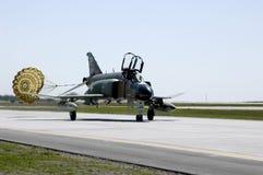 F4 Phantom. Jet at air show Royalty Free Stock Photo