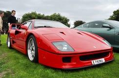 f40 Ferrari Obrazy Royalty Free