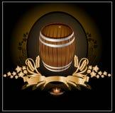 Faßkwass-Bierwein Stockfotos