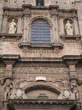 Façade romanic kościół w Nardo', Włochy Zdjęcia Stock