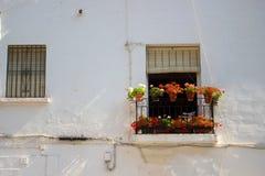 Façade urbain de maison photos libres de droits