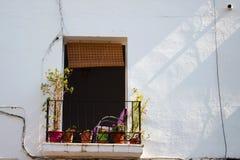 Façade urbain de maison photographie stock libre de droits