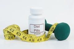 Faça dieta comprimidos Imagens de Stock