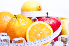 Faça dieta o controle! Foto de Stock Royalty Free