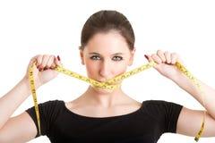 Faça dieta o tempo Fotografia de Stock Royalty Free