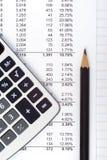 Faça a matemática imagem de stock