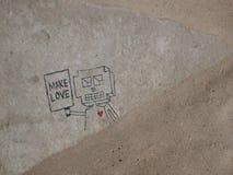Faça o amor Imagem de Stock