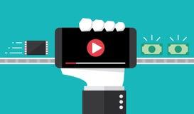 Faça o dinheiro do grampo criativo viral Imagem de Stock