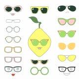 Faça-o você mesmo limão nos vidros Foto de Stock