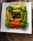 Faça saltar vegetarianos Imagem de Stock Royalty Free