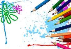 Faça seu mundo colorido Fotos de Stock Royalty Free