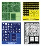 Faça sua própria coleção do sinal Imagem de Stock