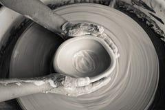 Faça uma cerâmica foto de stock