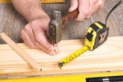 Faça-você-mesmo com ferramentas diferentes Fotografia de Stock