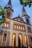 Façade Argentine de cathédrale de posées Photo stock