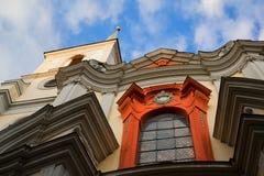 Façade baroque photographie stock libre de droits