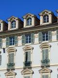 Façade baroque Image libre de droits