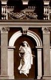 Façade baroque de villa Photographie stock libre de droits