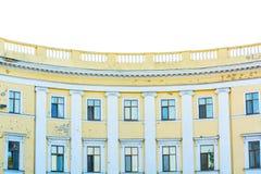 Façade classique de maison Photo stock