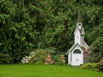 Façade d'église Image libre de droits