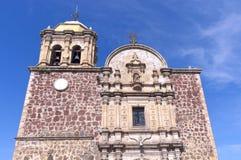 Façade d'église dans la tequila Mexique image stock