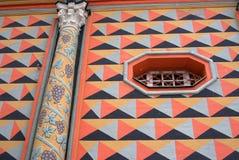Façade d'église dans la trinité Sergius Lavra Photos libres de droits