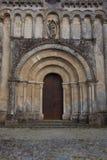Façade d'église de Rioux Photo stock