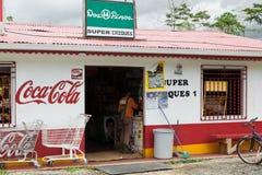 Façade d'un magasin, Costa Rica Images stock