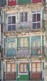 Façade d'un vieux bâtiment à Porto Photo libre de droits
