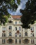 Façade d'un vieux bâtiment à Vienne photos libres de droits
