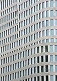 Façade d'une construction moderne Images libres de droits