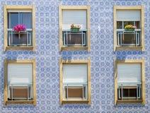 Fa?ade d'une maison traditionnelle au Portugal photos libres de droits