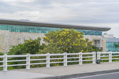 Façade de bâtiment d'aéroport de Guayaquil Images stock