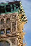 Façade de bâtiment de fin du 19ème siècle dans Soho, Manhattan, New York photos libres de droits