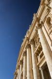 Façade de basilique du ` s de St Peter Photographie stock libre de droits