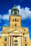 Façade de cathédrale de Gothenburg en Suède Images libres de droits