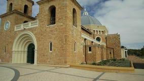Façade de cathédrale de Geraldton clips vidéos