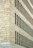 Façade de construction d'affaires Images stock