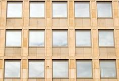 Façade de construction d'affaires - Copenhague images stock