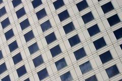 Façade de corporation de construction Photographie stock libre de droits
